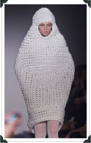 crochet picard Crochet on the Runway: Picard Meets YSL