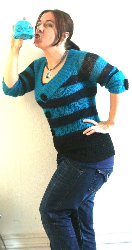 Post image for 365 Ways to Wear Crochet: Crochet and Knit Sweater