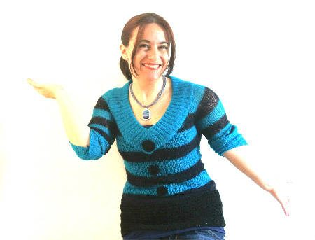 crochet sweater detail 365 Ways to Wear Crochet: Crochet and Knit Sweater