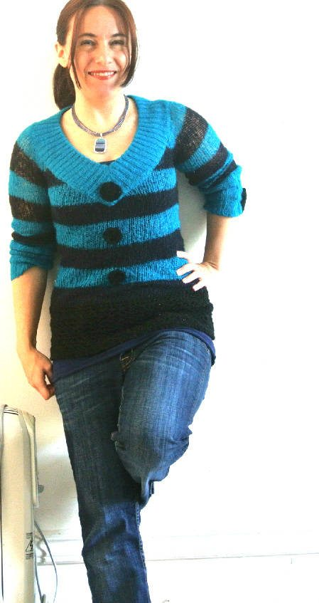 crochet sweater2 365 Ways to Wear Crochet: Crochet and Knit Sweater