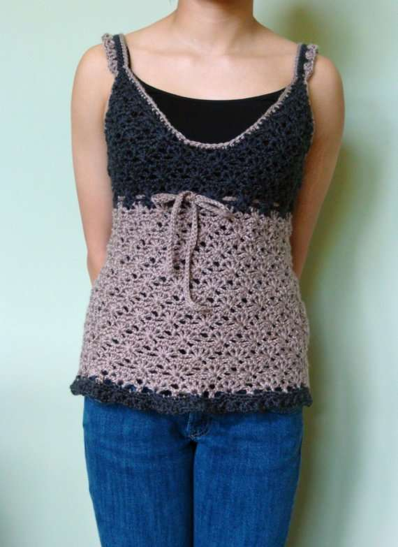 Crocheting On Top Of Crochet : crochet top