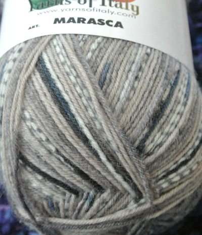 denim sock yarn Yarns of Italy Eye Candy ... YUM