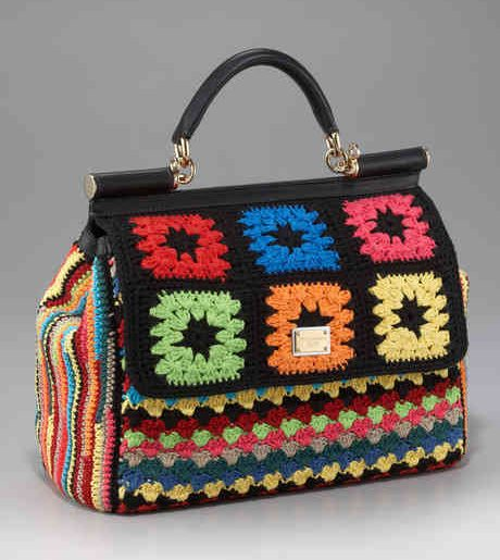 More Dolce Gabbana Crochet Handbags Crochet Patterns How To