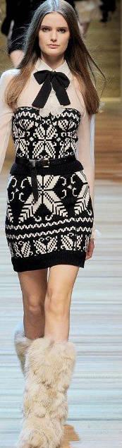 designer dress Designer Crochet: Dolce & Gabbana