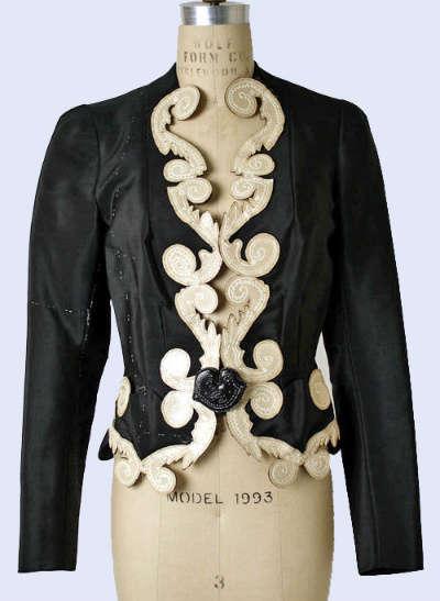 designer jacket Designer Crochet Project: Elsa Schiaparelli