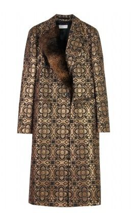 dries van note fur coat Designer Crochet Project: Dries Van Noten