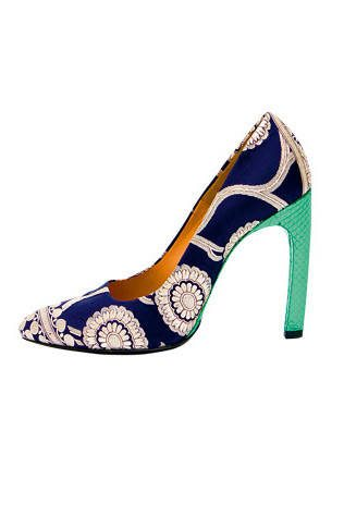 dries van noten designer shoes Designer Crochet Project: Dries Van Noten