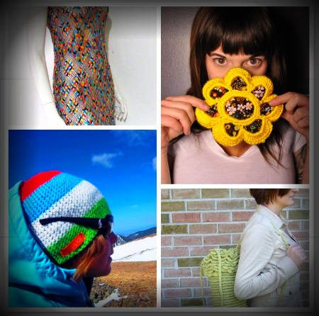 etsy crochet items Crochet Blog Roundup: January 2012