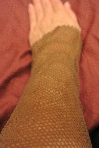 crochet fishnet tutorial