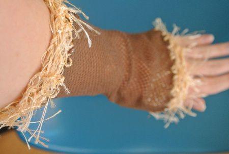 novelty yarn crochet
