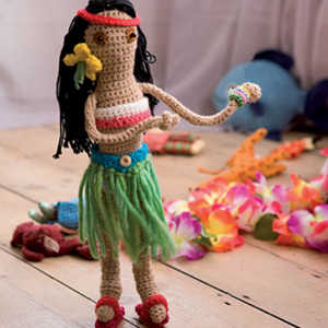 hula crochet doll Oscar Nominated Crochet