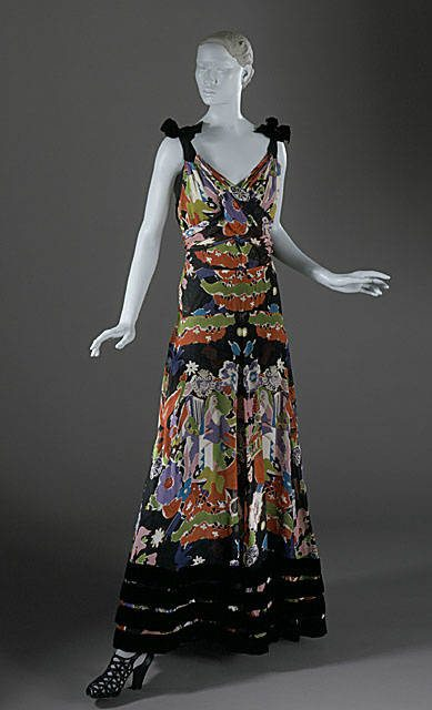 schiaparelli dress Designer Crochet Project: Elsa Schiaparelli