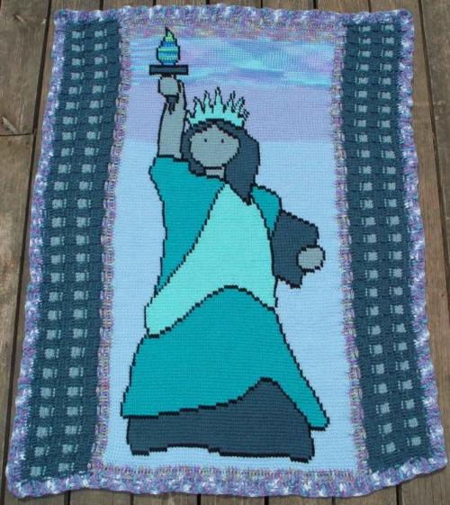 twin towers crochet