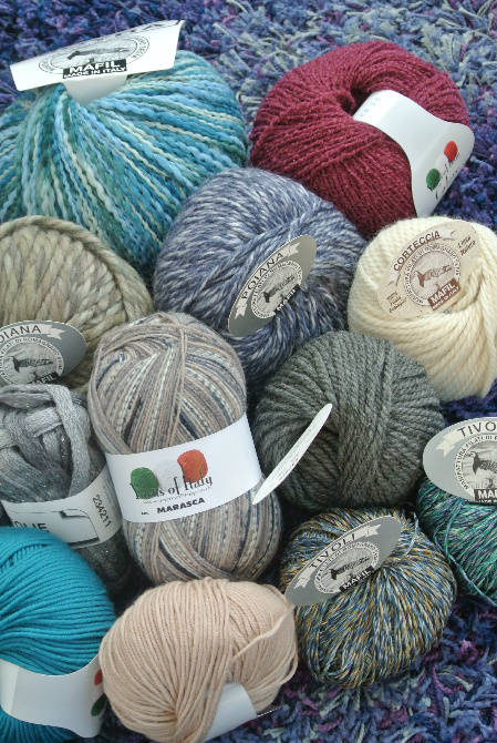 Post image for Yarns of Italy Eye Candy … YUM