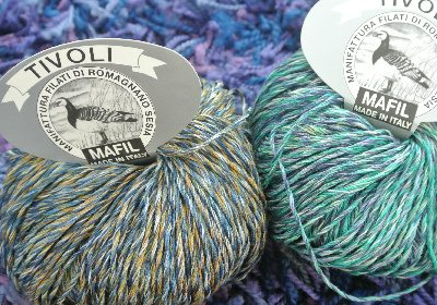 yummy yarn Yarns of Italy Eye Candy ... YUM