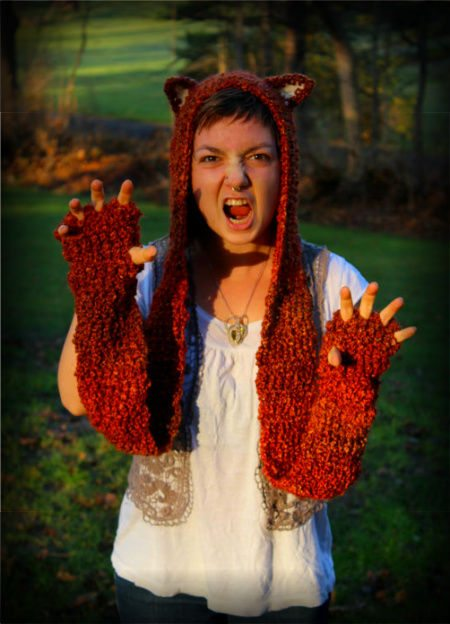 animal crochet scarf 100 Unique Crochet Scarves