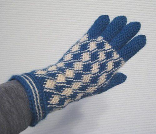 guantes de ganchillo Bosnio