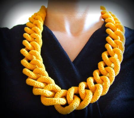 chain link crochet 100 Unique Crochet Scarves