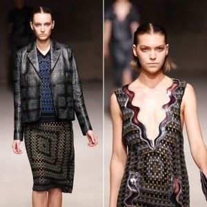christopher kane Then and Now in Crochet (9/9   9/15)
