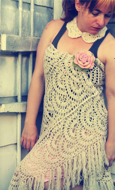 Post image for 365 Ways to Wear Crochet: Shawl as Dress