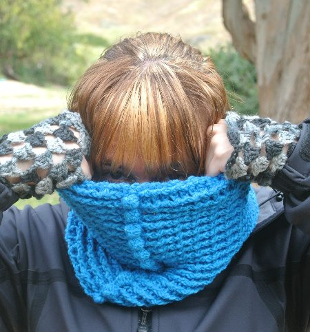 crochet accessories1 365 Ways to Wear Crochet Goes Camping