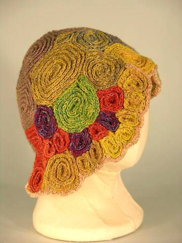 crochet art hat4 100 Unique Crochet Hats