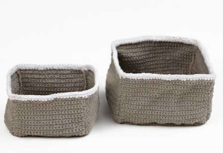 crochet baskets Le Souk Crochet Supports Women in War Torn Countries