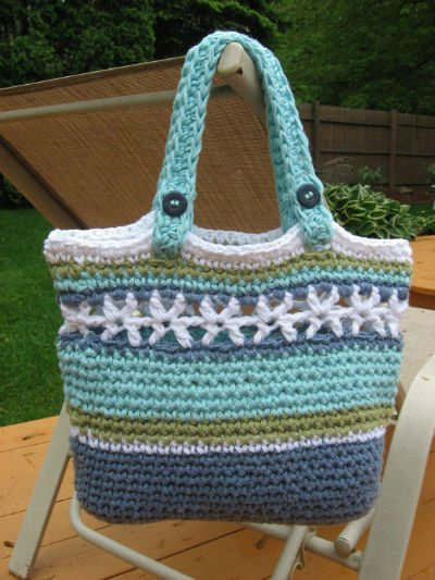 Beach Bag Crochet : Etsy Crochet Pattern: Beach Bag PDF
