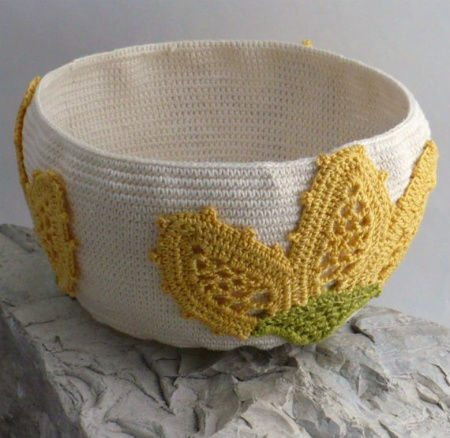 Post image for Etsy Crochet: Floral Crochet Bowl