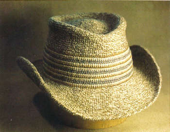 crochet cowboy hat Hard Crochet: Vintage Book Shows Snapshot of Crochet History