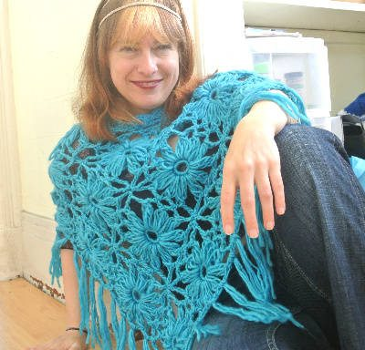 Post image for 365 Ways to Wear Crochet: Poncho