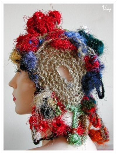 crochet hat1 400x523 100 Unique Crochet Hats
