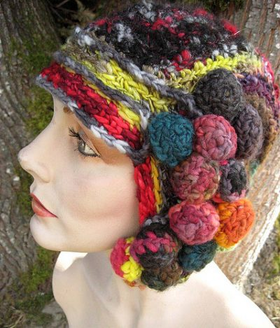 crochet hat2 400x469 100 Unique Crochet Hats