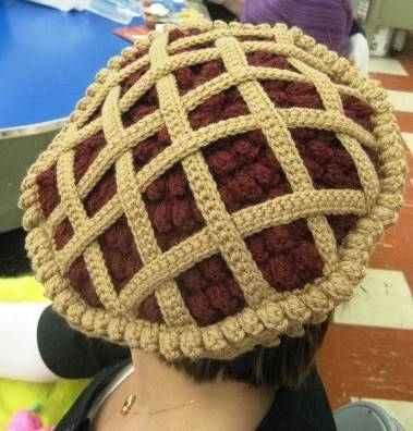 crochet pie hat 100 Unique Crochet Hats
