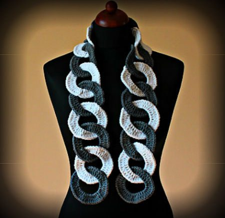 crochet ring scarf 100 Unique Crochet Scarves