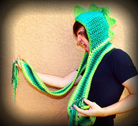 crochet scarf hat 100 Unique Crochet Scarves