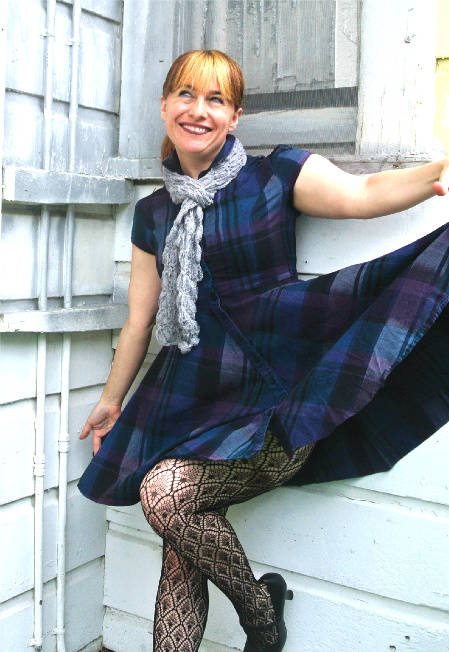 Post image for 365 Ways to Wear Crochet: Lace Ribbon Scarf Revisited