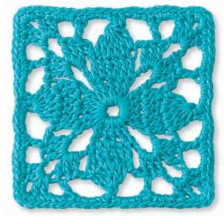 Free easy crochet patterns, how to crochet granny square