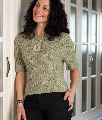 crochet sweater2 Custom Crocheted Sweaters Book Review, Interview and Giveaway