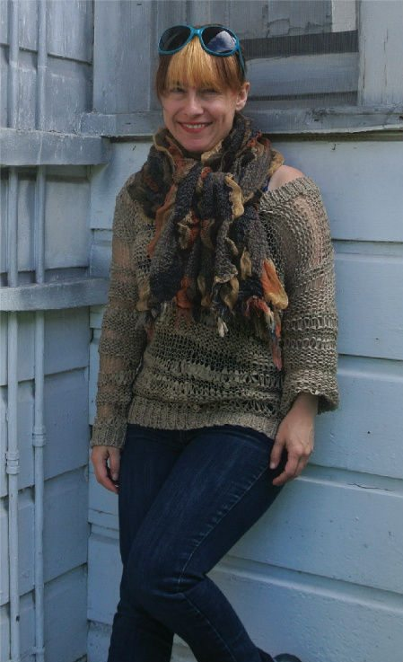 Post image for 365 Ways to Wear Crochet: Storebought Sweater