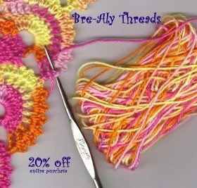Post image for My Readers Get 20% Off Crochet Thread!