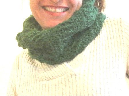 crochet10 365 Ways to Wear Crochet: Textured Cowl
