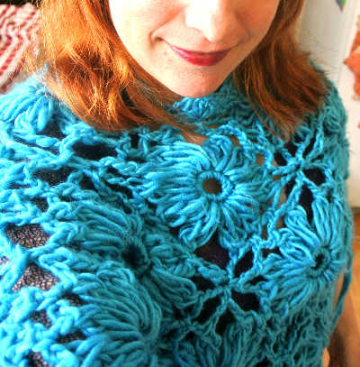 crochet8 365 Ways to Wear Crochet: Poncho