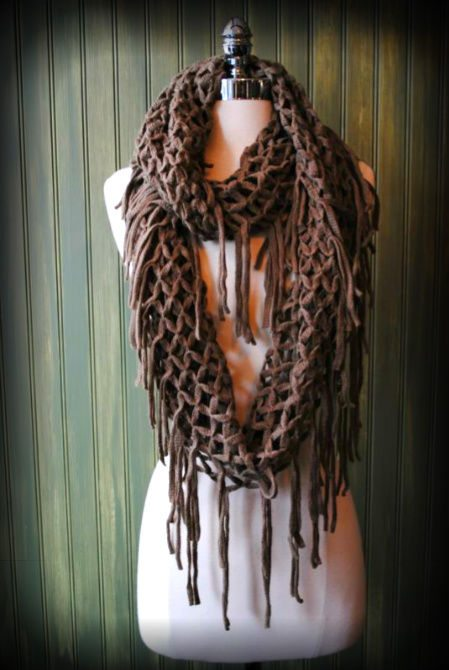 crocheted scarf 100 Unique Crochet Scarves