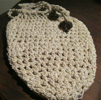 donna karan crochet purse Designer Crochet Project: Donna Karan