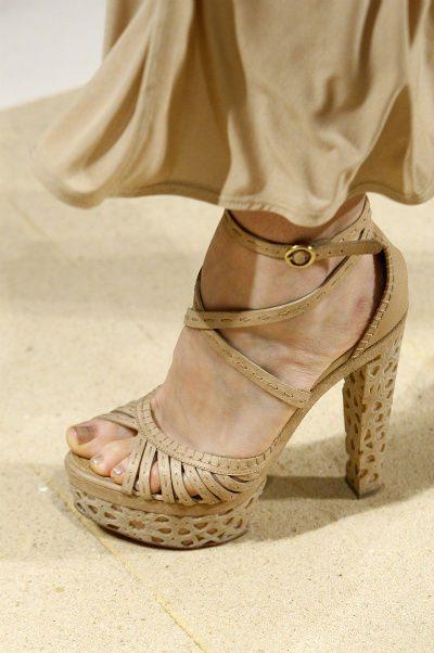 donna karan shoes Designer Crochet Project: Donna Karan