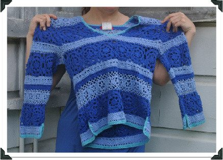 espirit crochet sweater How to Wear a Crochet Sweater Thats Too Small