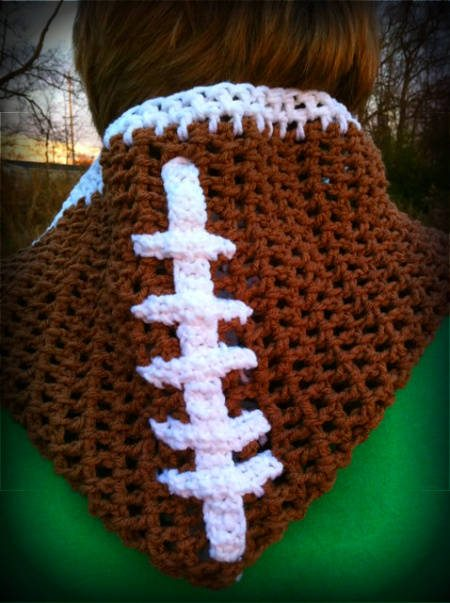 football crochet scarf 100 Unique Crochet Scarves