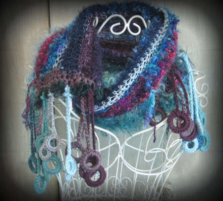 freeform crochet scarf 100 Unique Crochet Scarves