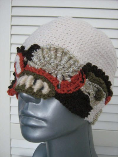 freeform hat 400x533 100 Unique Crochet Hats